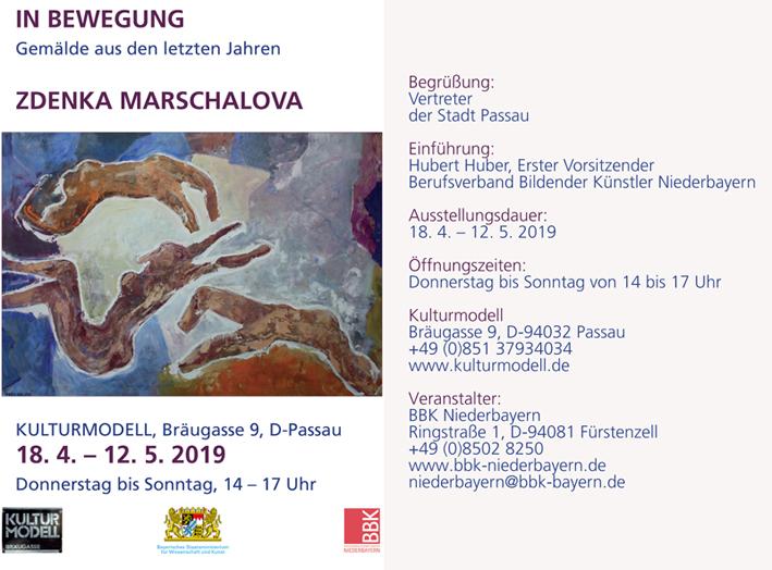 Zdena Marschalová – In Bewegung