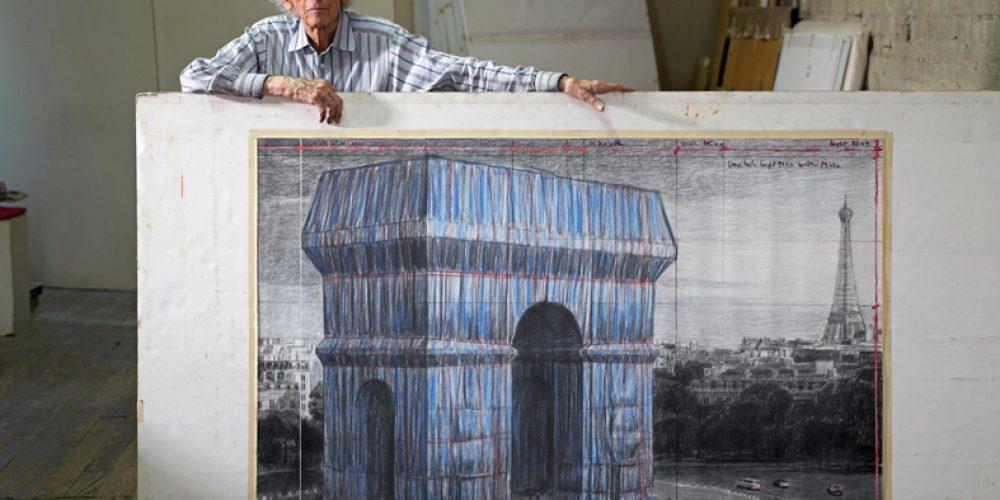 Christo a Jeanne-Claude – L'Arc de Triomphe, Wrapped, 1961–2021