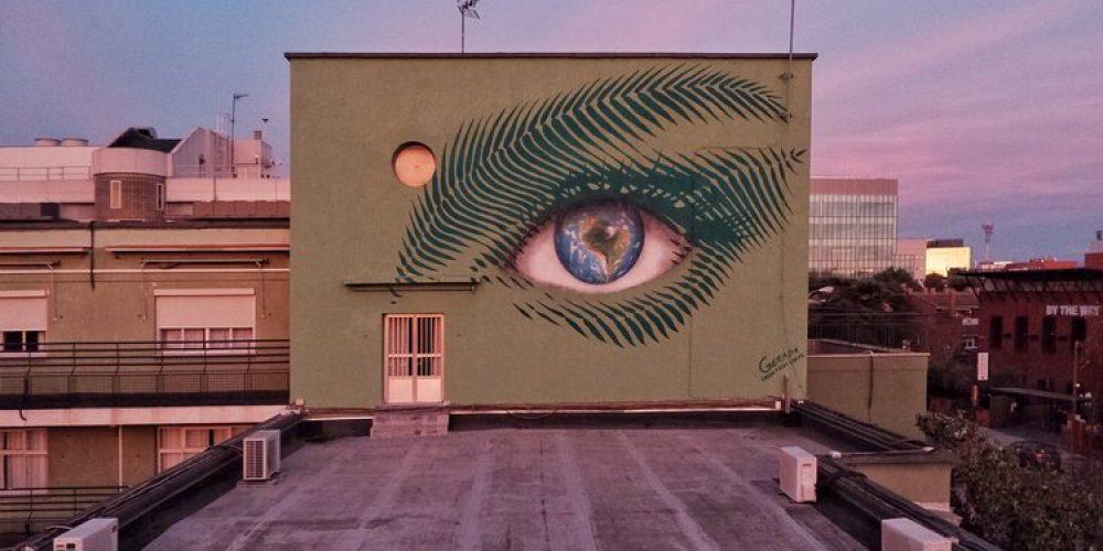Street art ke konferenci o klimatu – Madrid 2019