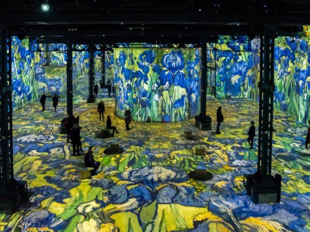 Van Gogh, Starry Night – digitální muzeum L'Atelier des Lumières oživuje obrazy Vincenta van Gogha