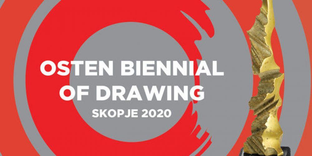 Ceny Osten bienále kresby – Skopje 2020 pro Čechy