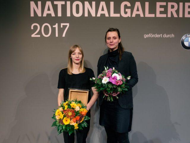Ceny berlínské Národní galerie pro Agnieszku Polskou a Sandru Wollner