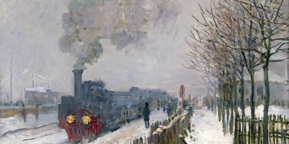 Plovoucí svět Clauda Moneta
