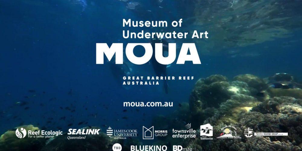 TheMuseum of Underwater Artpřipravuje v Austrálii podvodní environmentální umělecké instalace
